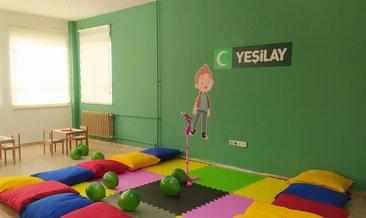 Benim Kulübüm Yeşilay Yeşil Oda projesi