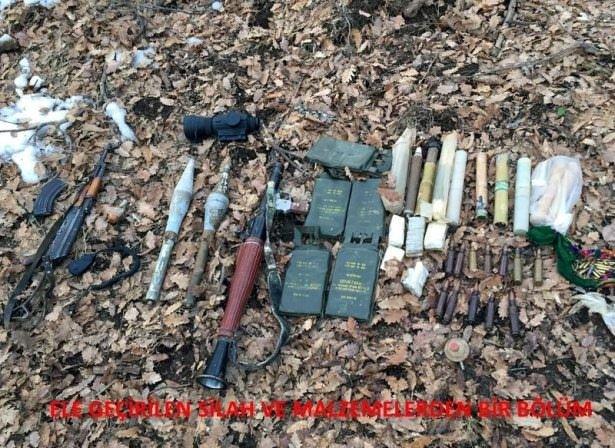 PKK sığınaklarına operasyonlar