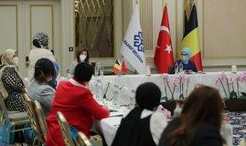 Emine Erdoğan'dan kritik toplantı