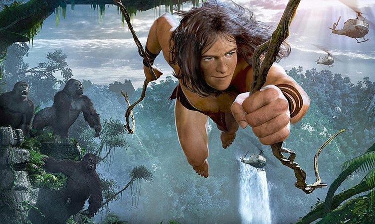 Tarzan filminden kareler