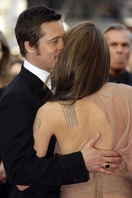 Angelina Jolie'nin dövmeleri
