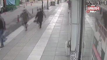 Deprem anında panik yaptı, pencereden böyle atladı | Video