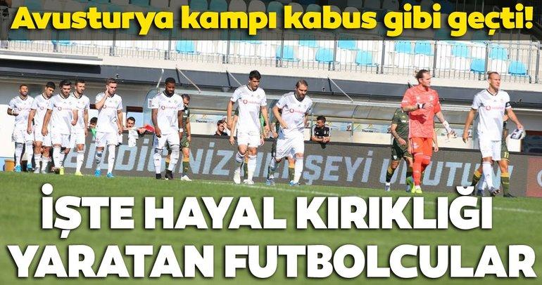 İşte Beşiktaş'ın kamp raporu