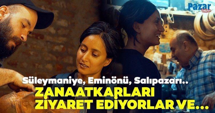 Sanatçılar ve zanaatkârlarla İstanbul sentezi