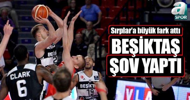 Beşiktaş, Partizan'ı rahat geçti
