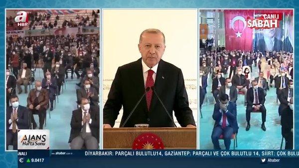 Son Dakika: Başkan Erdoğan: Önümüzdeki haftadan itibaren kongrelerimizi erteliyoruz