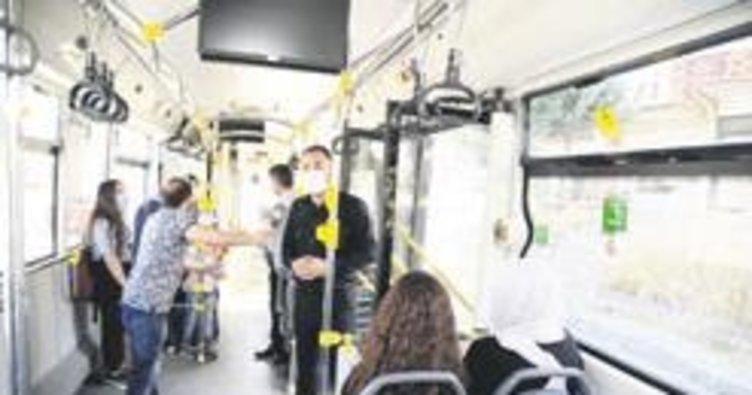 Ertuğrul başkan otobüste uyardı
