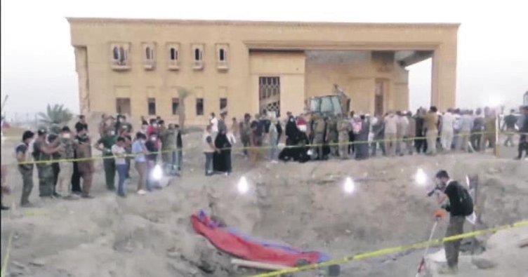 Tikrit'te toplu mezarda 550 ceset bulundu