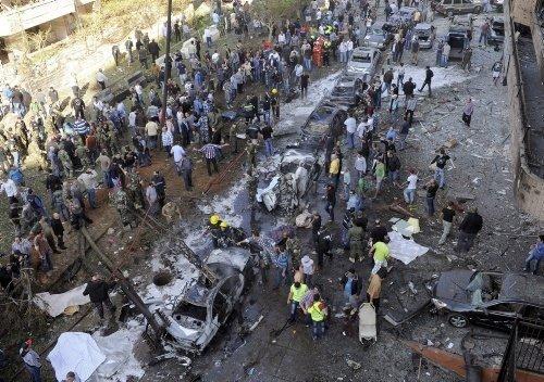 Beyrut'ta şiddetli patlama