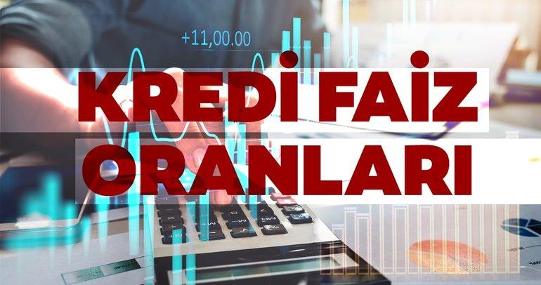 Kredi faizleri! Güncel Garanti, Vakıfbank, Akbank, Ziraat, Halkbank, İş Bankası, QNB Finansbank kredi faizleri son durumu!