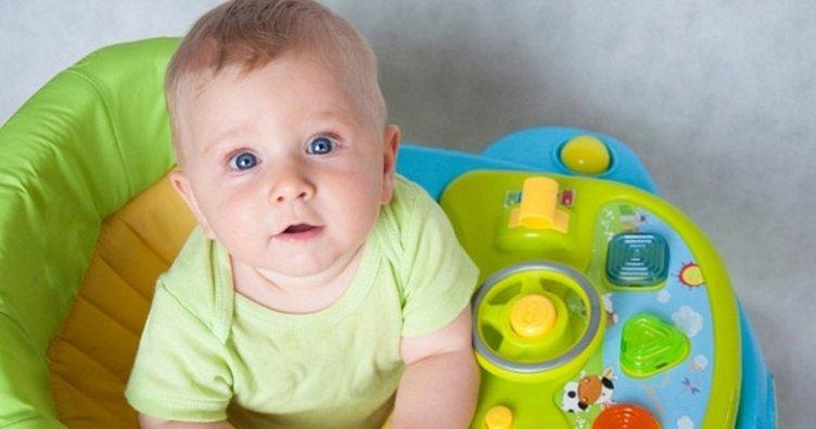 Yürüteç, bebeklerde omurga eğriliğine sebep oluyor!