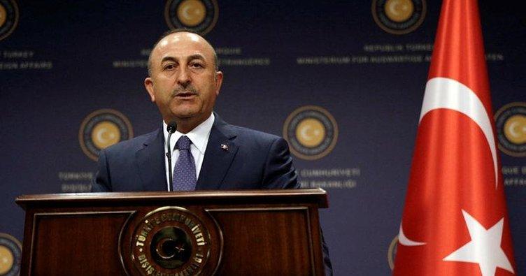 Dışişleri Bakanı Çavuşoğlu, İranlı mevkidaşıyla görüştü