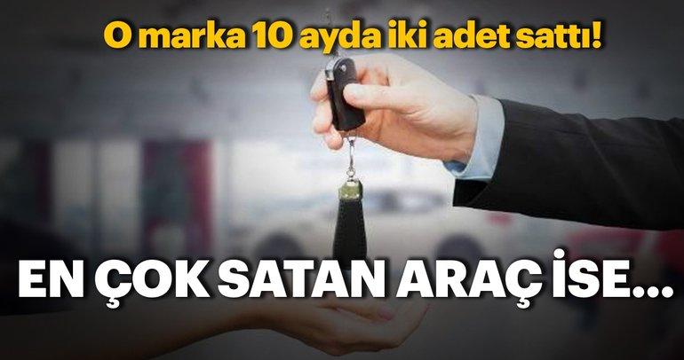 2018'de hangi marka kaç adet araç sattı?