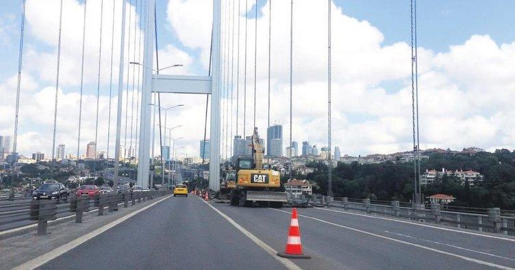Köprü onarımı ağustosta bitecek