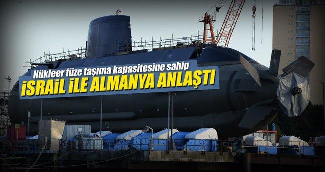 İsrail 3 yeni denizaltı alıyor