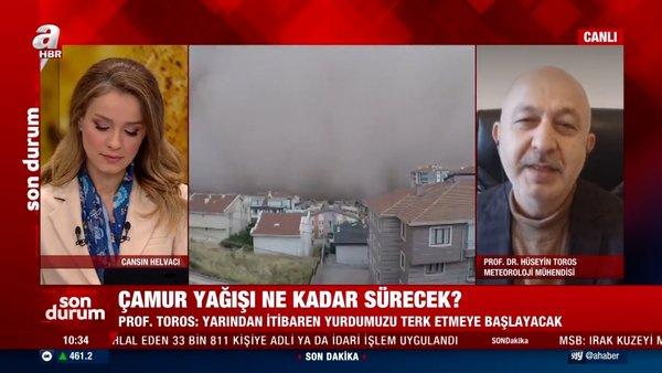 SON DAKİKA: İstanbul'da çamur yağışı ne kadar sürecek? Meteoroloji Mühendisi'nden canlı yayında flaş açıklamalar...