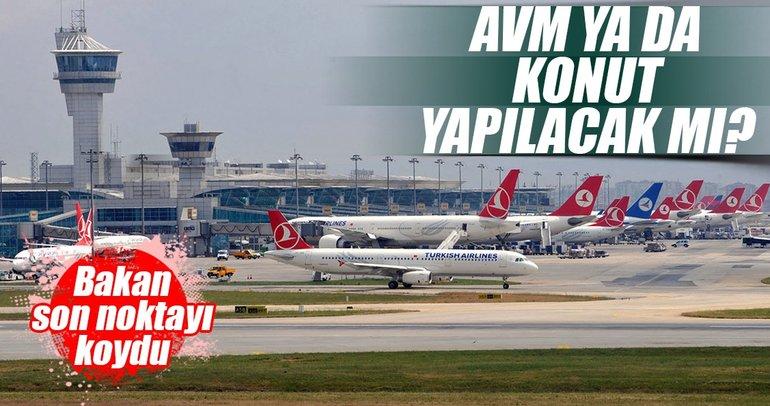 Atatürk Havalimanı yerine AVM ve konut yapılmayacak