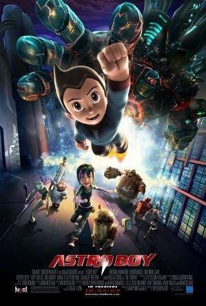 Astro Boy filminden kareler