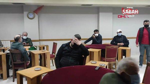 İstanbul'da güvenlik kamerasıyla önlem alınan kahvehaneye baskın!
