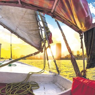 Nil'de bir akşamüstü