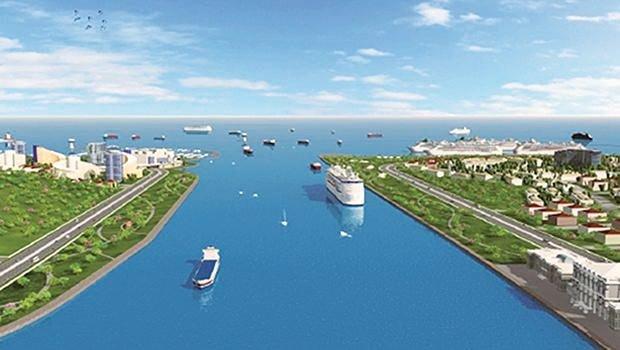 Kanal İstanbul'da imzalar atılıyor