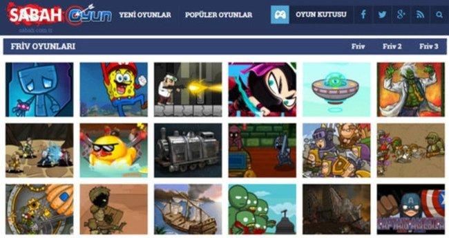 Friv Sabah'dan Oyun Oyna (28 Ocak 2016)