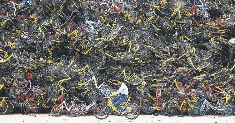 Bisiklet mezarlıklarına çözüm aranıyor