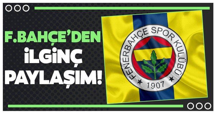 Fenerbahçe'den ilginç paylaşım! Altay Bayındır...