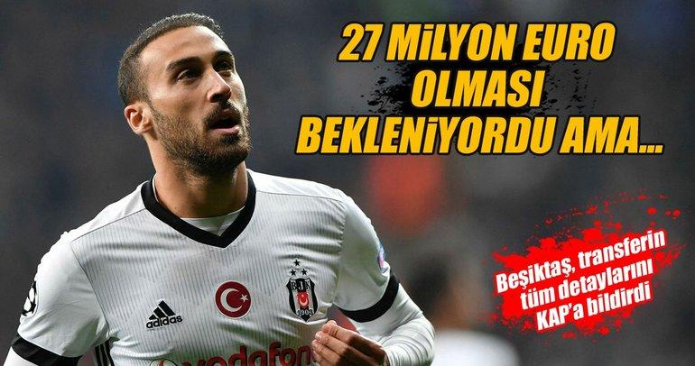 İşte Beşiktaş'ın Cenk Tosun'dan kazanacağı para