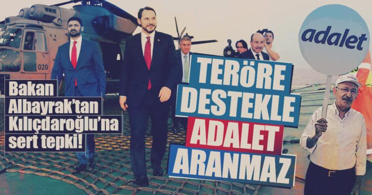 Bakan Albayrak'tan Kılıçdaroğlu'na tepki!