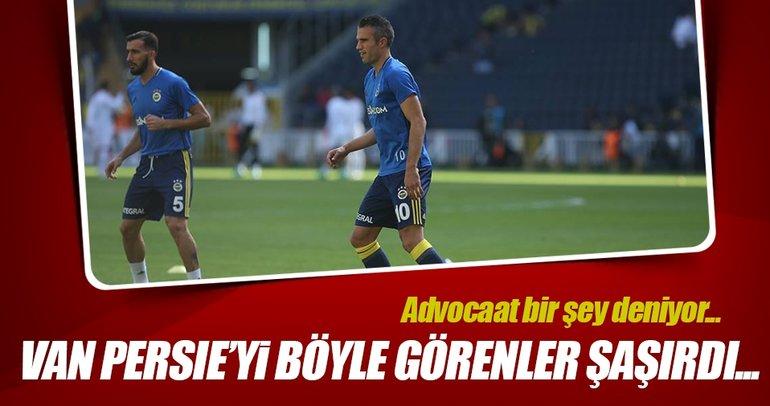 Fenerbahçe kadrosunda Van Persie sürprizi