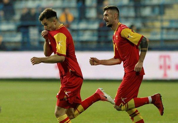 Karadağ - Türkiye maçından kareler