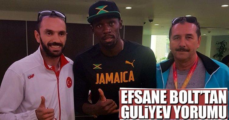 Efsane Bolt'tan Ramil Guliyev yorumu