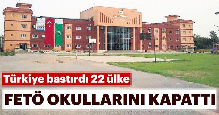 Türkiye bastırdı 22 ülke FETÖ okullarını kapattı