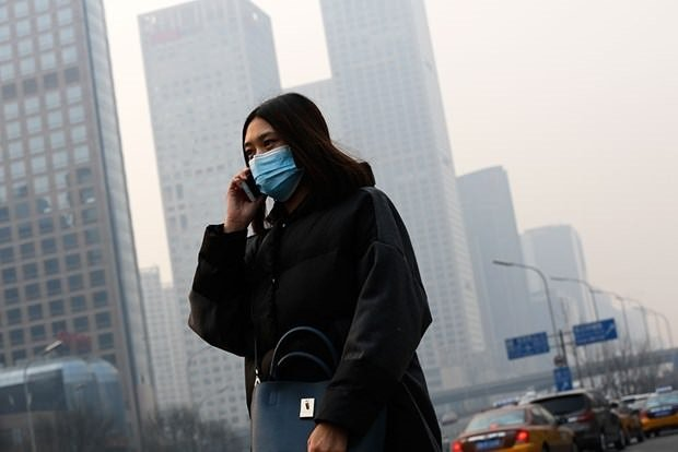 Çin'de hava kirliliği