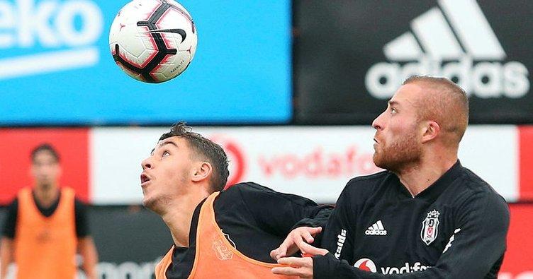 Beşiktaş'ın antrenman maçında gollü beraberlik