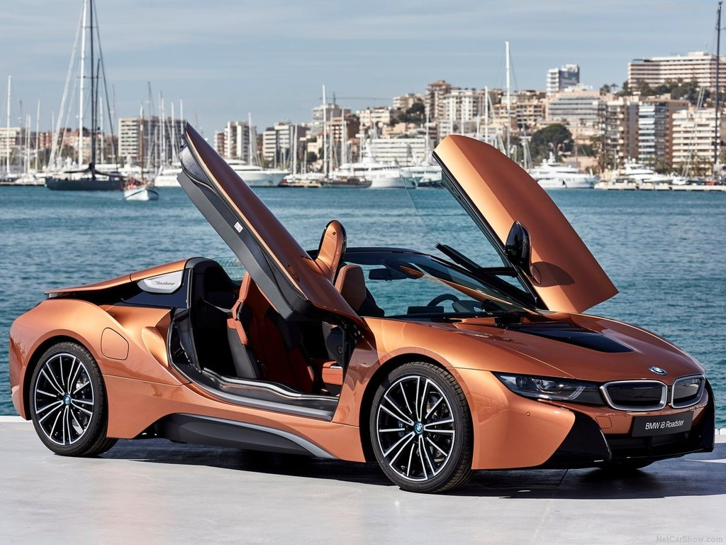 BMW'nin hibrit canavarı: 2019 BMW i8 Roadster - Galeri - Otohaber