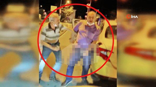 Son Dakika Haberi: İstanbul'da cinsel organını çıkartarak gösteren sapık taksici kamerada | Video
