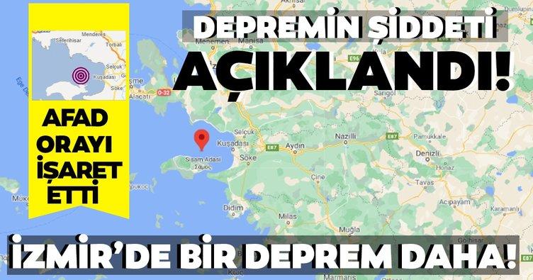 Son dakika haberi: İzmir'deki depremin ardından AFAD ve Kandilli'den açıklama geldi! Depremin merkez üssü belli oldu Son depremler