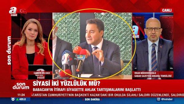 Ali Babacan'ın itirafları siyasette ahlak tartışmalarını başlattı! Siyasi ikiyüzlülük mü?
