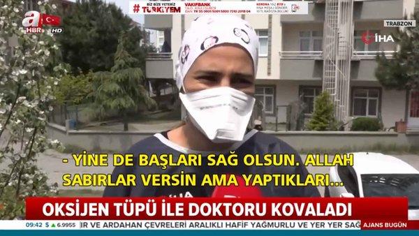 Doktora Oksijen Tüpü İle Saldırdı! / A Haber