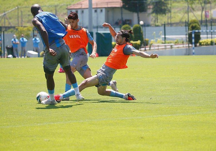 Trabzonspor idmanından kareler!