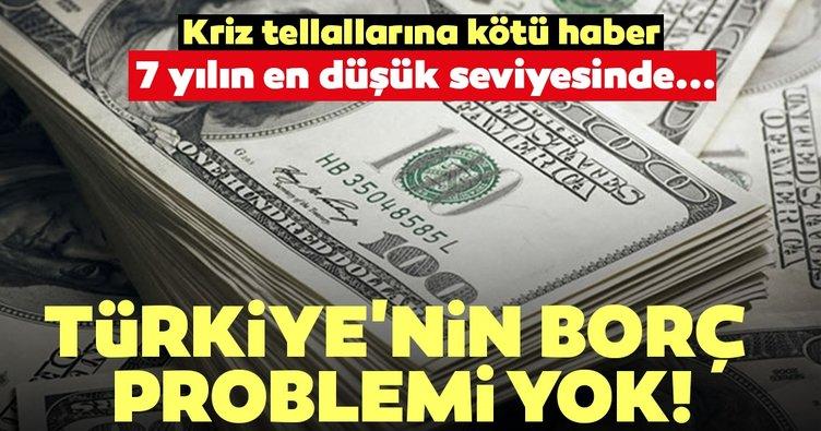 Reel sektörün döviz açığı 7 yılın en düşük seviyesinde! Türkiye'nin borç problemi yok...