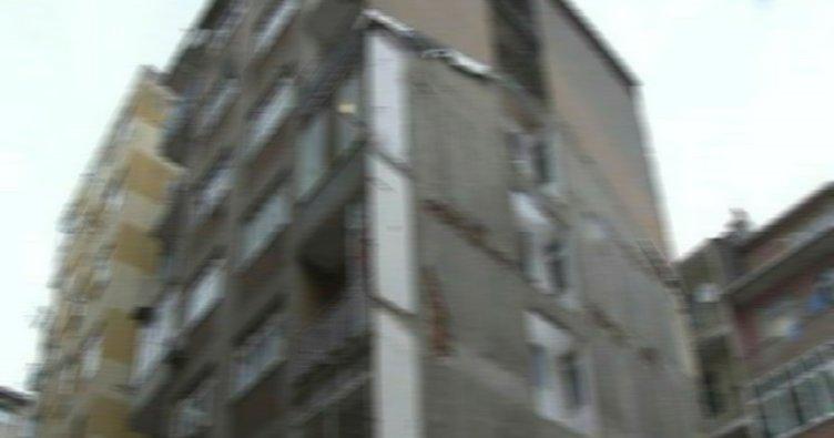 Kadıköy'de intihar girişimi
