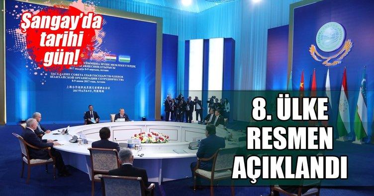 Pakistan resmen Şangay İşbirliği Örgütü'nde
