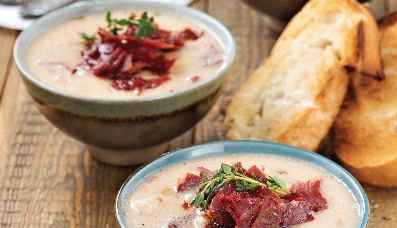 Kremalı kereviz çorbası tarifi...