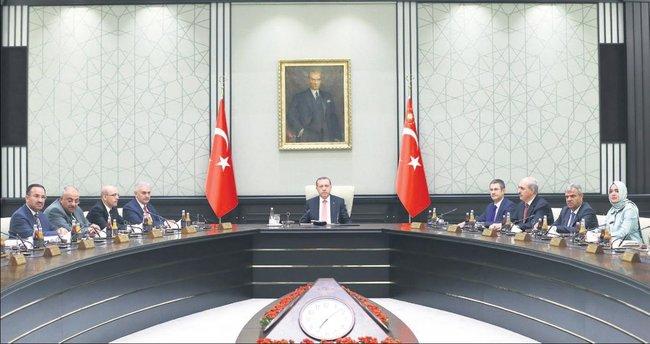 Bakanlar Kurulu Erdoğan başkanlığında toplanıyor