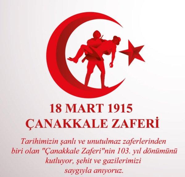 Çanakkale Zaferi ile ilgili mesajları ve sözleri! 18 Mart 2018 Reismli Çanakkale Zaferi kutlama mesajları
