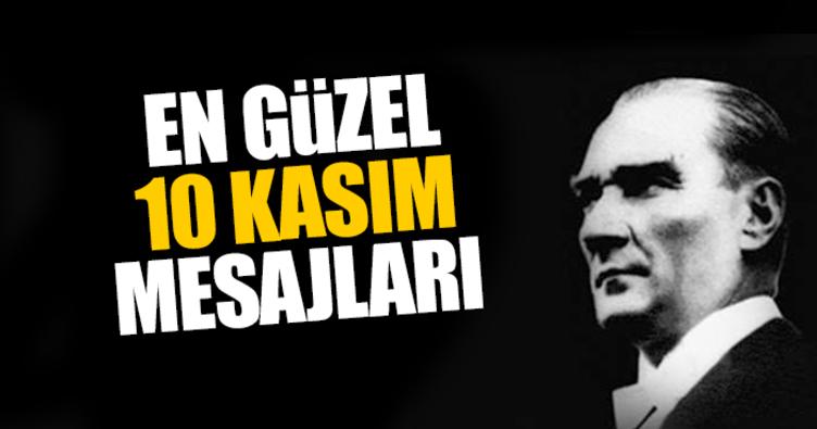 10 Kasım Atatürk'ü anma günü mesajları! - Resimli 10 Kasım 2017 mesajları
