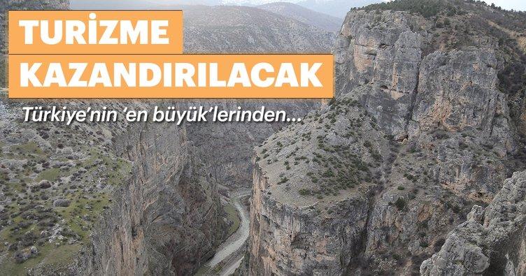 Cehennem Deresi Kanyonu,turizme açılıyor